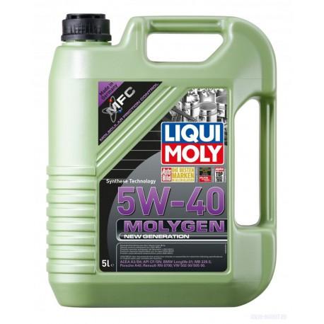 Масло моторное Liqui Moly  SB-1 Molygen New Generation 5W40 ACEA A3/B4 (4л)