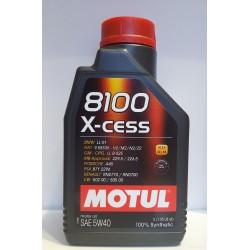 Масло моторное Motul 8100 X-cess 5W-40  (1L)