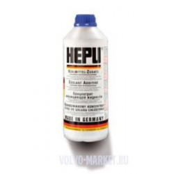 Антифриз системы охлаждения КОНЦЕНТРАТ HEPU 1.5 литра (синий)