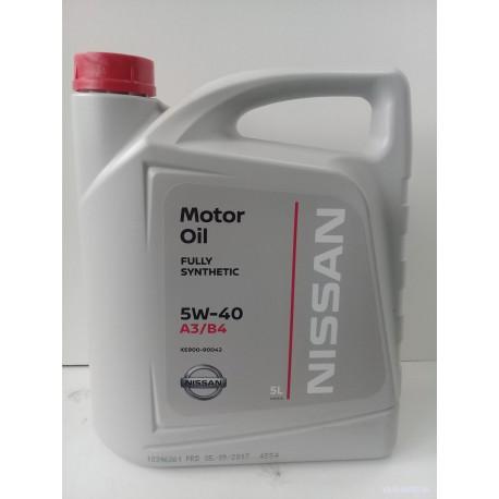 Масло моторное NISSAN 5W40 (5л)