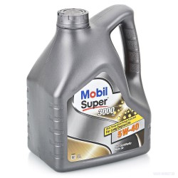 Масло моторное Mobil 1 Super 3000 X1 5W40  (4л)