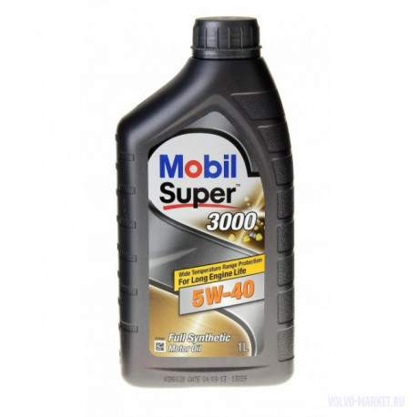Масло моторное Mobil 1 Super 3000 X1 5W40  (1л)