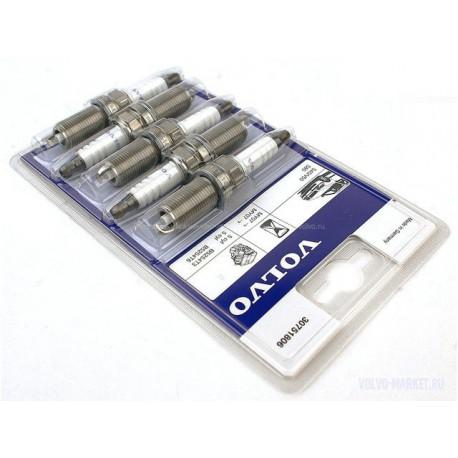 Свеча комплект 5шт. Volvo 850, C70, S60, S70, S80, V70, V70 XC, XC70, XC90