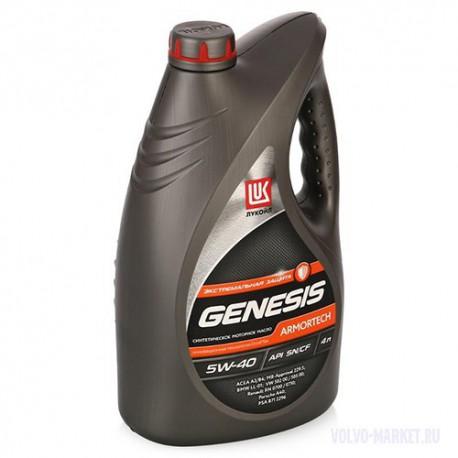 Масло моторное ЛУКОЙЛ Genesis Armortech 5W40 4л. (синтетика)