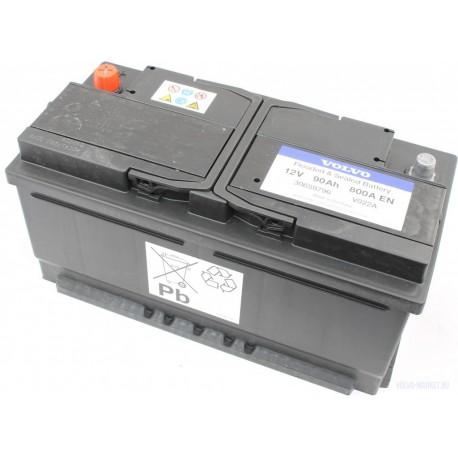 Аккумулятор 90a/h 800CCA Volvo OE
