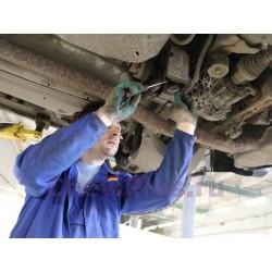 Замена фильтра тонкой очистки и чистка фильтра грубой очистки насоса муфты HALDEX