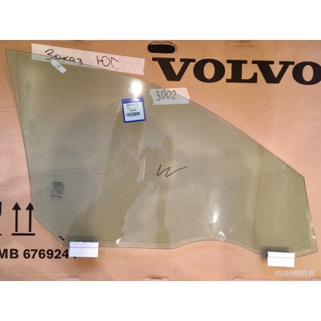 Стекло передней левой двери (бронь) Volvo XC70 OE