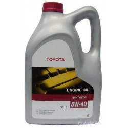 Масло моторное Toyota 5W40  SM/CF (5л.)