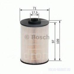 Фильтр топливный Volvo XC90, XC70 дизель (вставка) Bosch