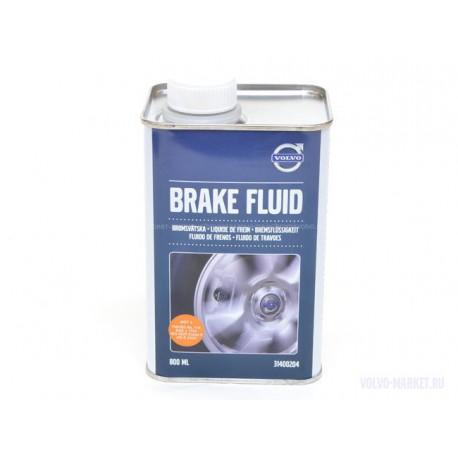 Тормозная жидкость DOT4+ Volvo 800 мл.