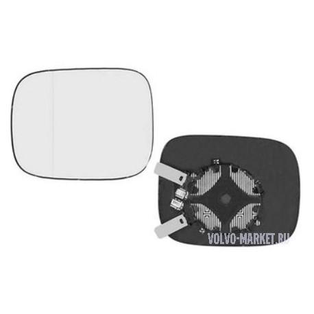 Стекло зеркала левое Volvo XC70